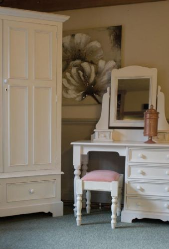 Juline Bespoke Pedestal Dressing Table 'B'